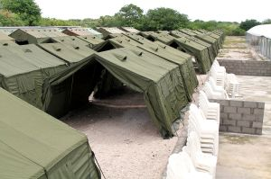 Accommodation in the Nauru offshore processing facility.